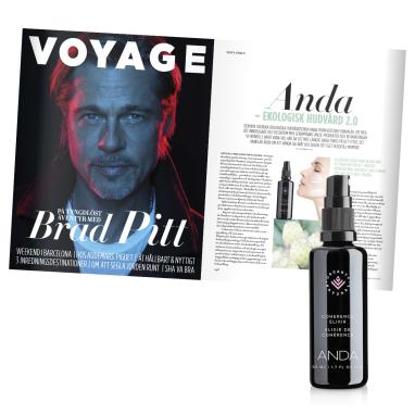 Fin artikel om ANDA i senaste numret av Voyage