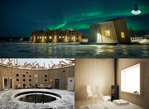 Kerstin Florian på Arctic Bath
