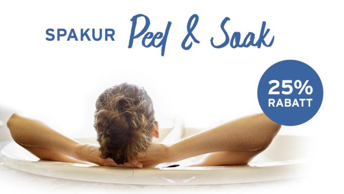 Spakur Peel & Soak - 25% rabatt på utvalda spaprodukter!